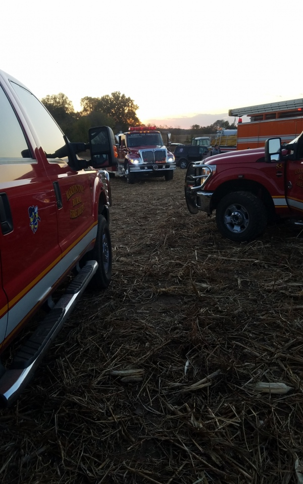Huron Field Fire