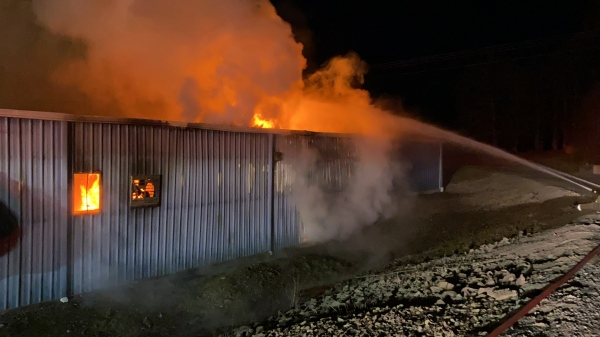 Commercial Fire Campbellsville Bypass (WHI Wholesale Hardwood Interiors)
