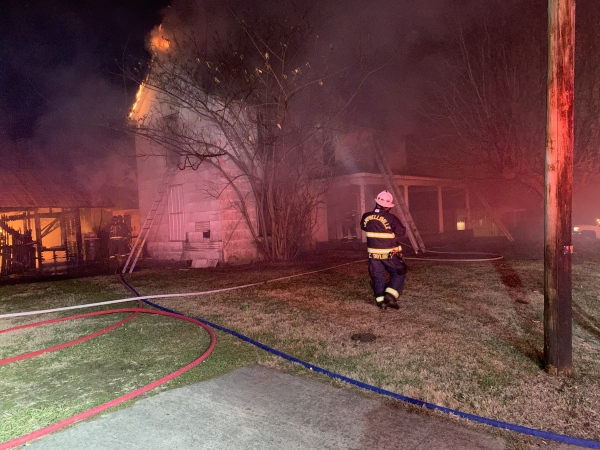 Press Release 421 South Central Avenue Structure Fire