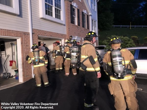 Report of Natural Gas in Townhomes - Spring Valley Ln.