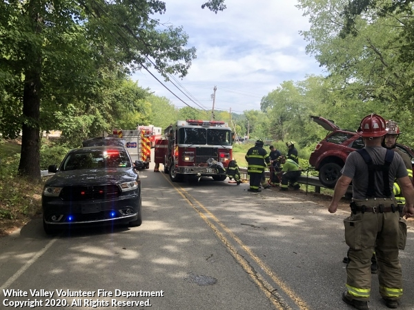 Motor Vehicle Accident with Entrapment - Sardis Rd.
